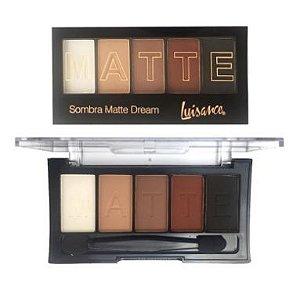 Paleta 5 sombras matte dream - Luisance-l6011-b