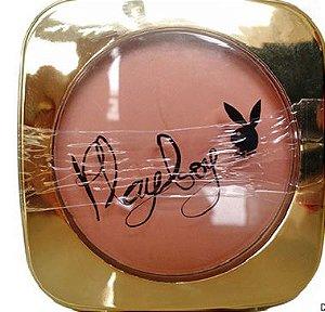 Pó compacto Gold Playboy - bege rosado