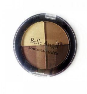 Quarteto de sombra Belle Angel matte - cor 02