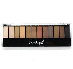Paleta de sombras Belle Angel 12 cores- b012-2