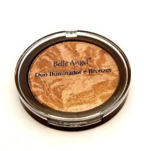 Duo iluminador e bronzer Belle Angel- B025