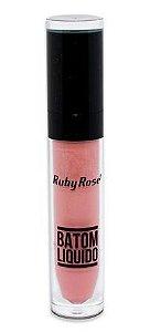 Batom líquido matte Ruby Rose -hb8213 cor 264