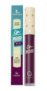 Batom lip matte Latika -cor 21