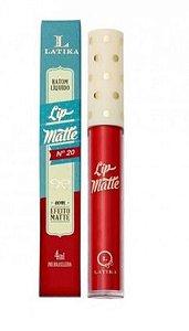 Batom lip matte Latika -cor 20
