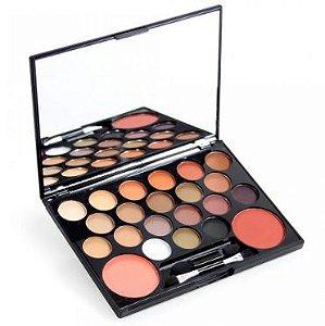Paleta de sombras e blushes divas -Luisance  l243 a