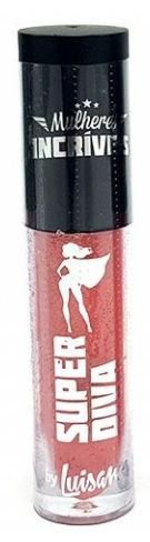 Batom líquido matte Super Diva Mulheres Incríveis-Luisance  lm3028 -cor 03