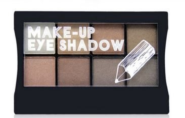 Paleta de sombras acetinadas importada  lq1079a45