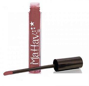 Batom líquido matte Mahav - cor rosê