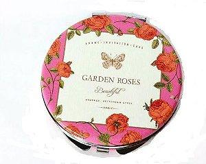 Espelho de bolso Garden roses