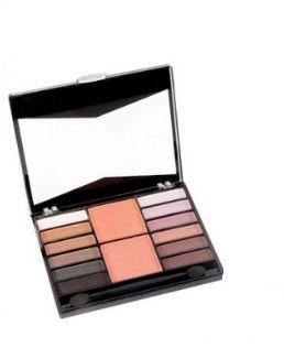 kit de sombras matte e blush Fenzza km06- c1