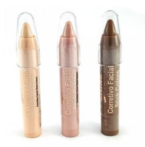 Corretivo facial stick colors - Luisance