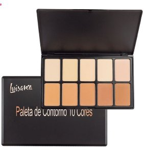 Paleta de contorno 10 cores- Luisance l778