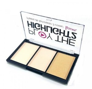Paleta de  iluminador Play the highlight cor a