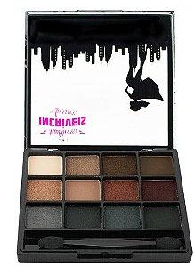 Paleta de Sombra Perolada 12 cores Super Deslumbrante - Luisance - B