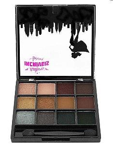 Paleta de Sombra Perolada 12 cores Super Deslumbrante - Luisance - A