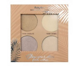 Iluminador Glow Your Skin Dark by Ruby Rose (cod. HB7500DARK)