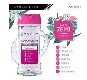 Água Micelar Zanphy - 200ml