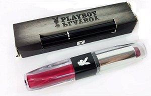 Kit Playboy batom e lápis de olhos.