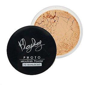 Pó Translucido Playboy  Photo Microfinish Powder cor 3