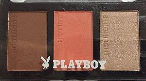 Paleta de Contorno+Blush+Iluminador Playboy - B1