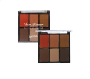 Paleta de Sombras Team Glamour -Luisance L8003- B