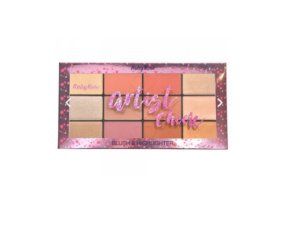 Paleta de Blush e Iluminador Artistic Cheek Ruby Rose- HB7219