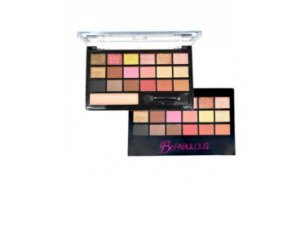 Paleta de Sombra Be Fabulous Ruby rose HB9931