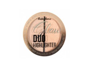 Iluminador Glow Duo Highlighter Ruby Rose HB75222 Cor-2