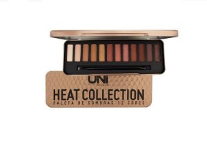 Paleta de sombras Uni Heat Collection 12 cores