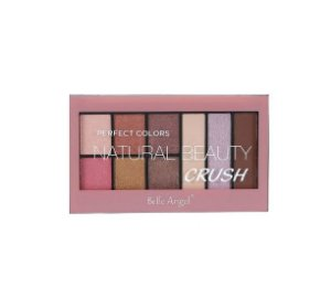 Paleta de Sombras Perfect Colors Natural Beauty Crush - Belle Angel Cor B