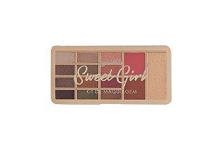 Kit de Maquiagem Sweet Girl- Luisance L2031B