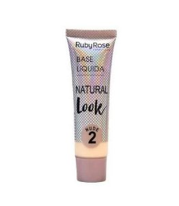 Base Liquida Natural Look Ruby Rose -Cor 2