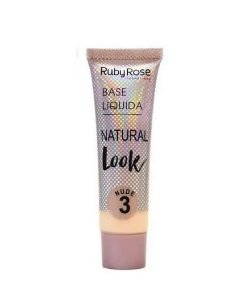 Base Liquida Natural Look Ruby Rose -Cor 3