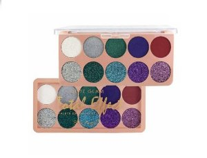 Paleta de Sombras Glotz Glam Total Effect  B- Belle Angel T023