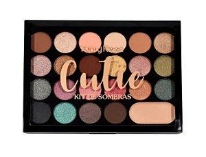 Paleta De Sombras Cutie- Ruby Rose Cod. HB1007