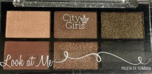 Paleta de Sombra Look At Me - City Girl cor 02