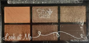 Paleta de Sombra Look At Me - City Girl cor 03