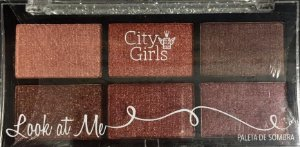Paleta de Sombra Look At Me - City Girl cor 04