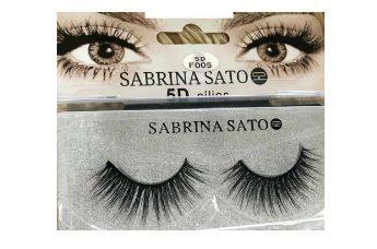Cílios Postiços Sabrina Sato 5D- F005
