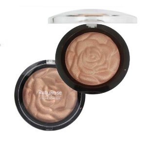 Baked Highlighter Powder Riby Rose- Cor 04