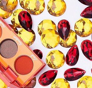 Paleta de Sombras Coleção Stoney Playboy- Cor Pedra do Sol
