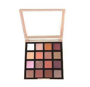 Paleta de Sombras 16 cores  New Collection New Face - Cor 01