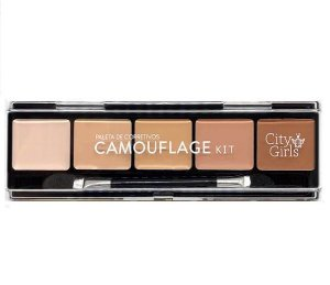 Paleta de Corretivos Camouflage Kit - city Girls