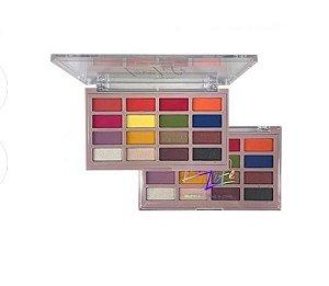 Paleta de sombras 16 cores Love Life -My Life Cor 2