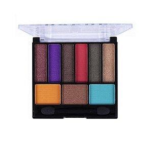 Paleta de Sombras Nine Glow Colors - Dapop B