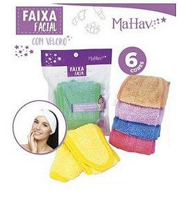 Faixa Facial Mahav - Rosa