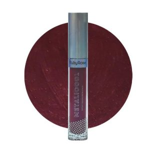 Batom Líquido Metalicool -Ruby Rose HB 8219-230