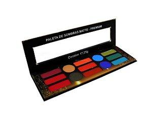Paleta de Sombras Matte Premium- Ludurana
