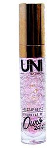 Gold lip Gloss  Ouro 24 k  Unimakeup Cor 2