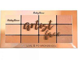 Paleta Artist Face -Ruby Rose HB7218